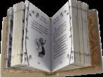 Миниатюрная книга в кожаном переплете. Лао-Цзы. Дао Дэ Цзин. Вид 2