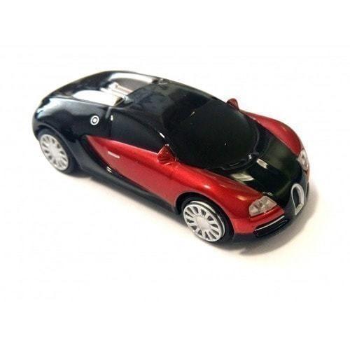 Подарочная металлическая флешка. Автомобиль Bugatti (фото)