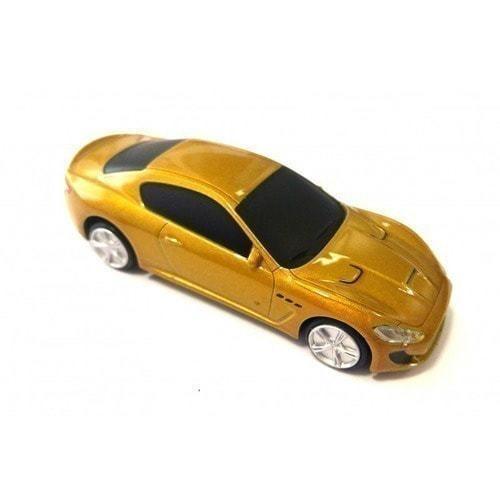 Подарочная металлическая флешка. Автомобиль Maserati (фото)