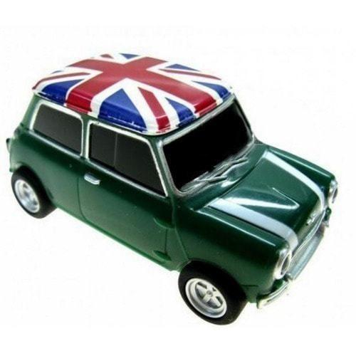 Подарочная флешка. Автомобиль Мини Купер (цвет зеленый) (фото)