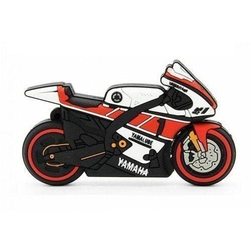 Подарочная флешка. Мотоцикл Yamaha (фото)