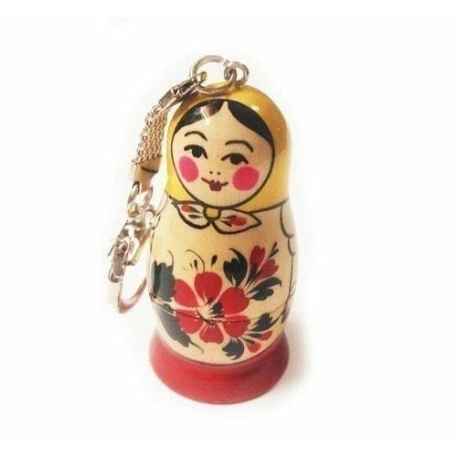 Подарочная деревянная флешка. Русская матрёшка (фото)