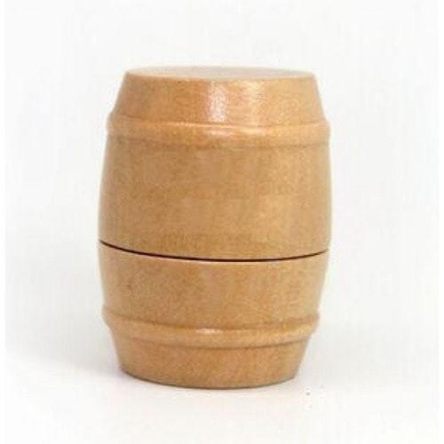 Подарочная деревянная флешка. Бочонок