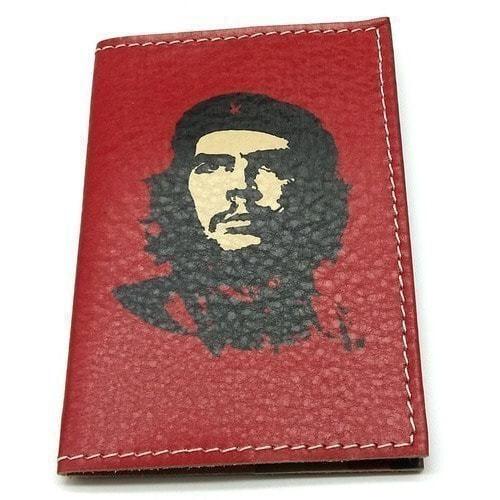 Кожаная обложка на паспорт. Че Геварра (фото)