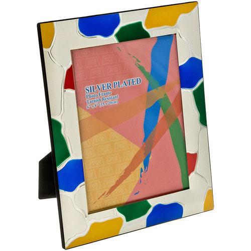Подарочная фоторамка с цветной эмалью (под фото 20х30 см) (фото)
