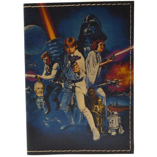 Кожаная обложка на паспорт. Звездные войны (фото)