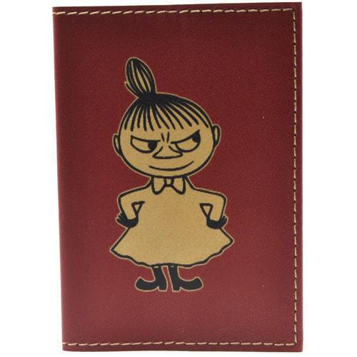 Кожаная обложка на паспорт. Девочка (фото)
