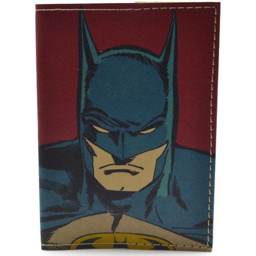 Кожаная обложка на паспорт. Супергерои. Бэтмен (фото)
