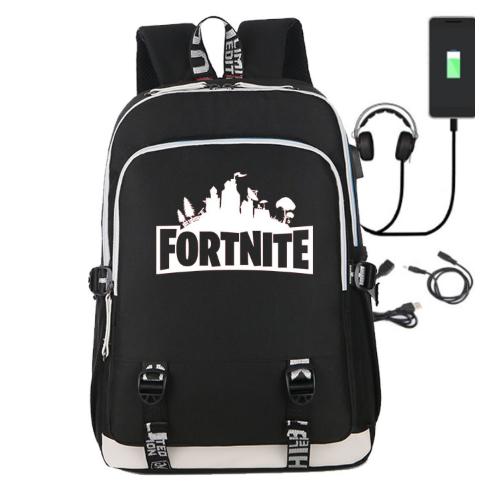 Рюкзак Fortnite с USB-портом для зарядки и разъемом для наушников (фото)