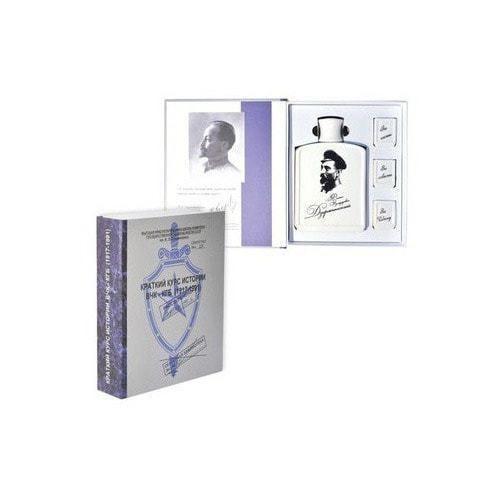 Подарочный набор с фарфоровым штофом. Краткий курс истории ВЧК-КГБ (фото)