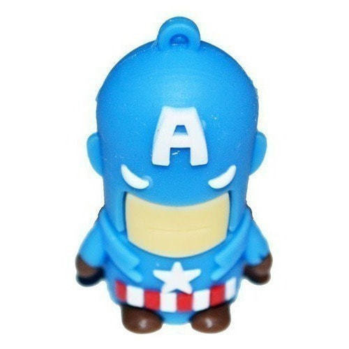 Подарочная флешка. Супергерои. Капитан Америка (фото)