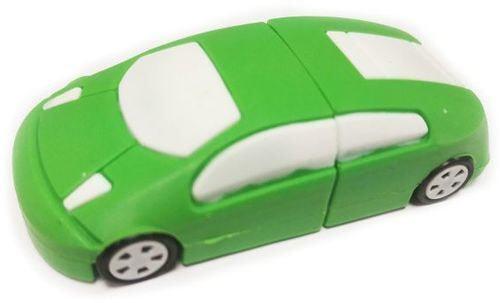 Подарочная флешка. Автомобиль (цвет зеленый) (фото)