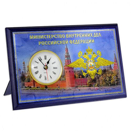 """Подарочные часы """"МВД"""" (фото)"""