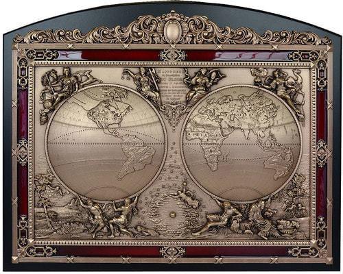 """Панно """"Карта мира"""" (50 х 62 см)"""