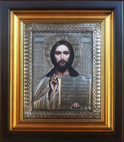 """Икона """"Господь Вседержитель"""" (30 х 26 см)"""