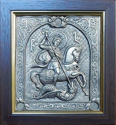 "Икона ""Георгий Победоносец"" (15 х 17 см)"
