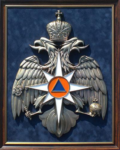 "Плакетка ""Эмблема МЧС России"" (45 х 56 см)"