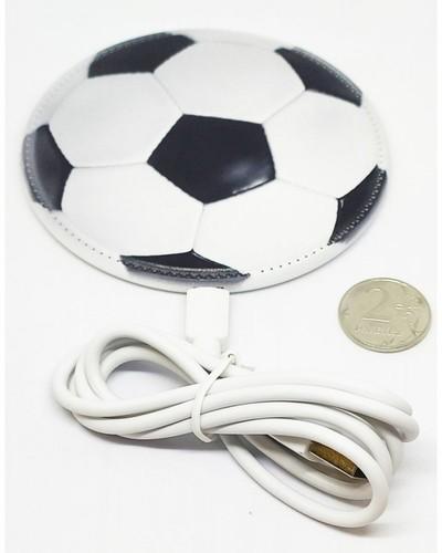 Беспроводное зарядное устройство. Футбольный мяч (фото)