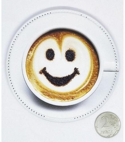 Беспроводное зарядное устройство. Чашка кофе (фото)