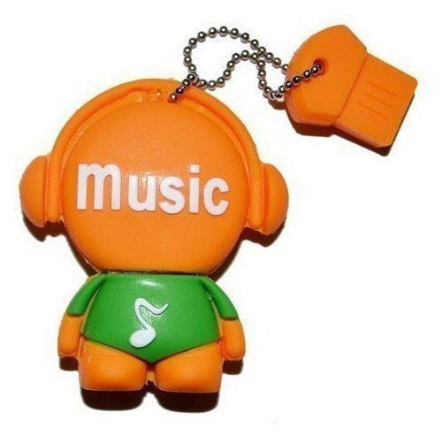 Подарочная флешка. Music-man (фото)