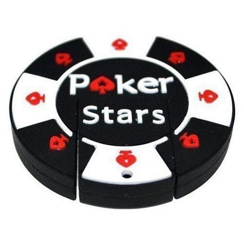 Подарочная флешка. Покерная фишка Poker Stars (фото)