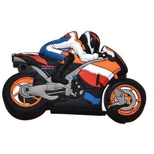 Подарочная флешка. Мотоциклист (фото)