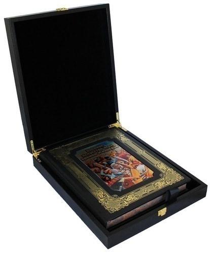 Книга в кожаном переплете и подарочном коробе. Военное искусство всех времен и народов (фото)
