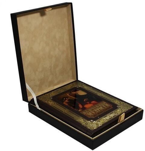 Книга в кожаном переплете и подарочном коробе. Жемчужины мудрости всех времен и народов (фото)