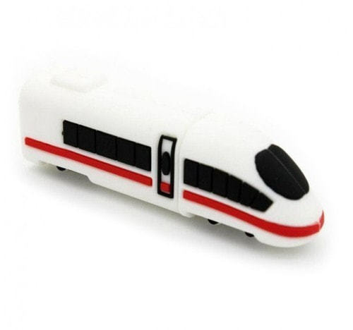 Подарочная флешка. Скоростной поезд (фото)