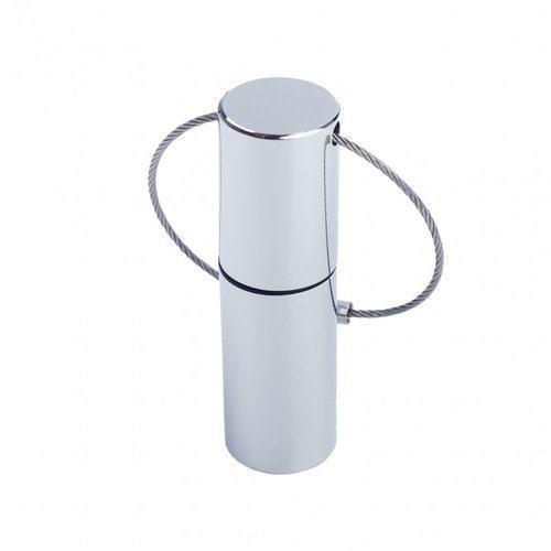 Подарочная металлическая флешка. Цилиндр (фото)
