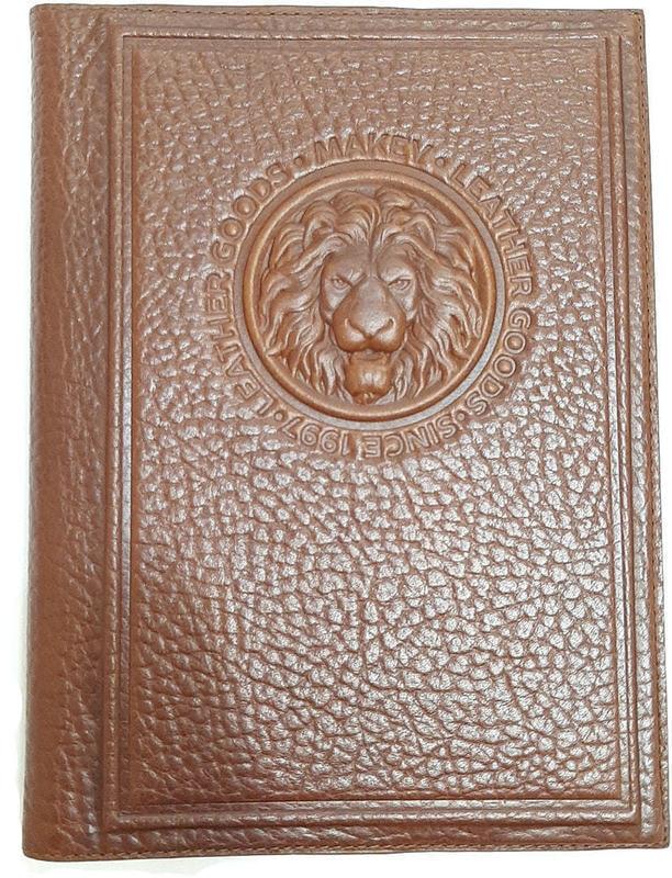 Подарочный ежедневник в кожаном переплете (А5). Royal | Тоскана (фото)