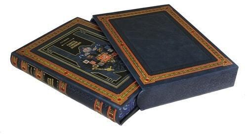 Подарочная книга в кожаном переплете. Работа тайной полиции (в футляре) (фото)