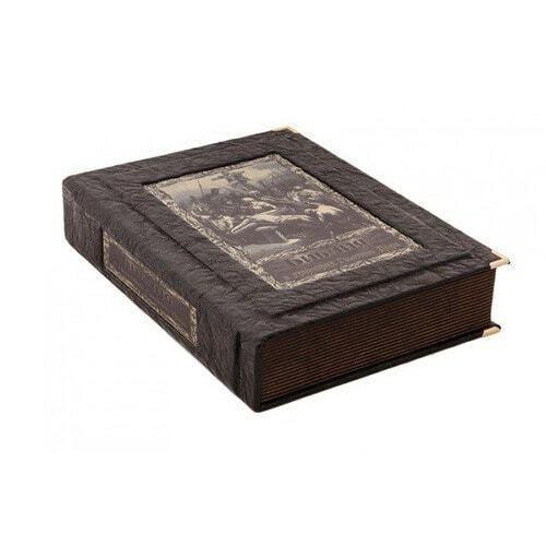 Подарочная книга в кожаном переплете. Библия в гравюрах Гюстава Доре (в коробе) (фото)
