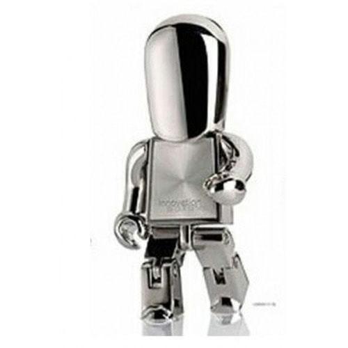 Подарочная металлическая флешка. Робот