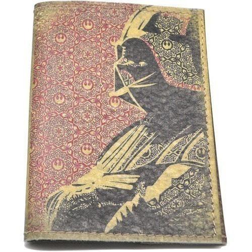 Кожаная обложка на паспорт. Дарт Вейдер (фото)