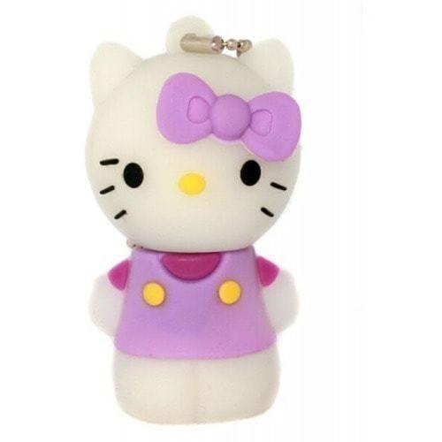 Подарочная флешка. Hello Kitty. Цвет фиолетовый