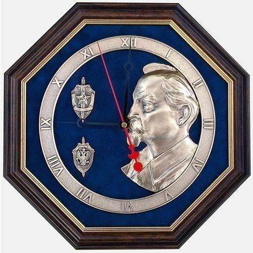 """Настенные часы """"Феликс Дзержинский"""" (34 х 34 см)"""