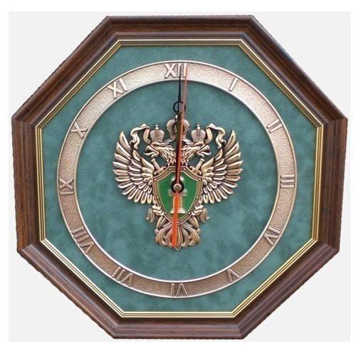"""Настенные часы """"Эмблема Прокуратуры РФ"""""""