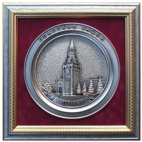 "Плакетка ""Спасская башня"" (26 х 26 см)"