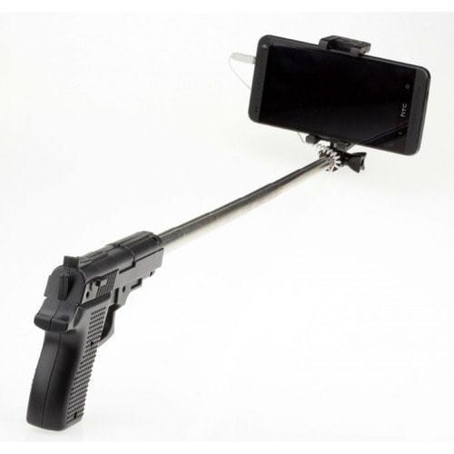 Палка для селфи. Пистолет (фото)
