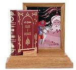 Подарочный набор с миниатюрной книгой в кожаном переплете. А.С. Пушкин «Руслан и Людмила»