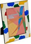 Подарочная фоторамка с цветной эмалью (под фото 20х30 см)