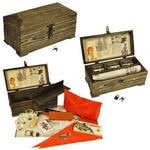 Подарочный набор в деревянном сундуке. Ностальгия