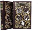 Подарочная книга в кожаном переплете. Уайльд Оскар. Избранные произведения в 2-х томах