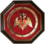 """Настенные часы """"Эмблема Национальной Гвардии"""" (34 х 34 см)"""