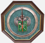 """Настенные часы """"Эмблема Таможни"""""""