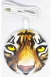 Беспроводное зарядное устройство. Тигр