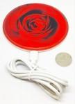 Беспроводное зарядное устройство. Роза