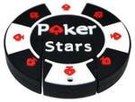 Подарочная флешка. Покерная фишка Poker Stars
