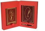 Подарочный набор с книгой и ежедневником в кожаном переплете. Мысли, афоризмы и шутки выдающихся женщин